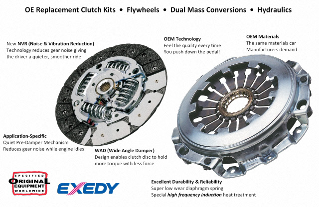 OEM Replacement Exedy Clutch