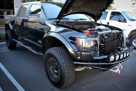 Ford Raptor Supercharger with Whipple Supercharger installed