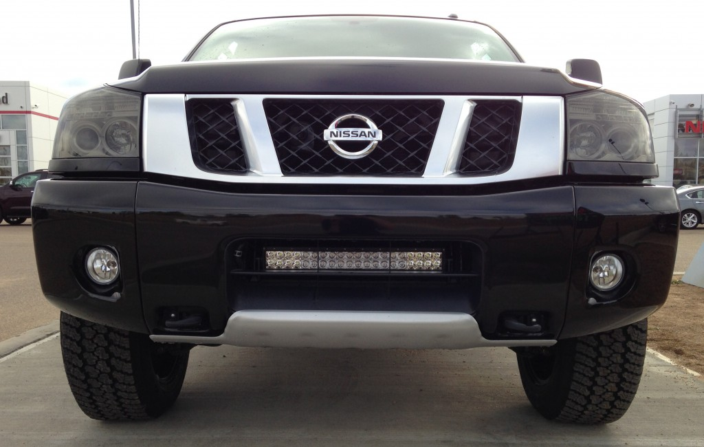 Stillen Nissan Titan Truck lights