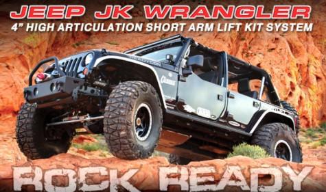 ReadyLIFT Jeep Wrangler Lift Kit