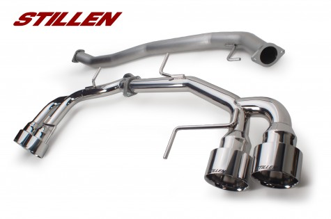 STILLEN Nissan GTR Exhaust