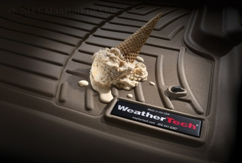 Stillen Weathertech liner ice cream fall