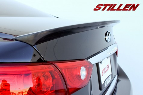 Stillen 2014 Infiniti Q50 rear deck wing
