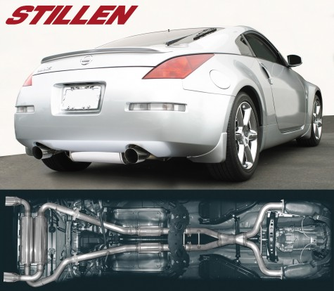 Stillen exhaust on car