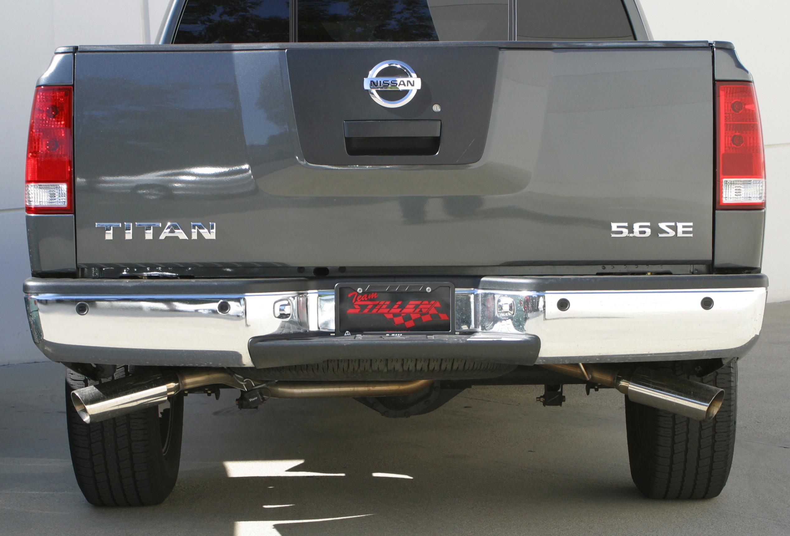 Nissan Titan Exhaust Leak : Stillen exhaust manufacturing more than power
