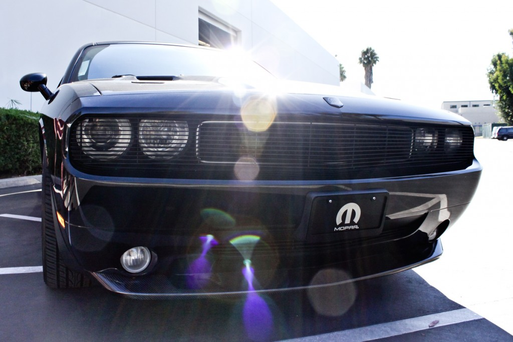 magnuson supercharged challenger front view
