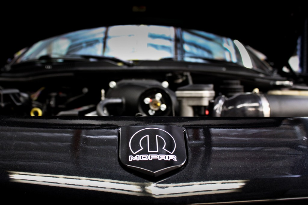 front view of the magnuson supercharged challenger
