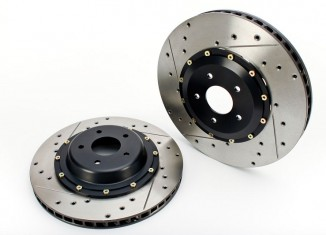AP Racing RadiCAL by STILLEN cross drilled & slotted rotors