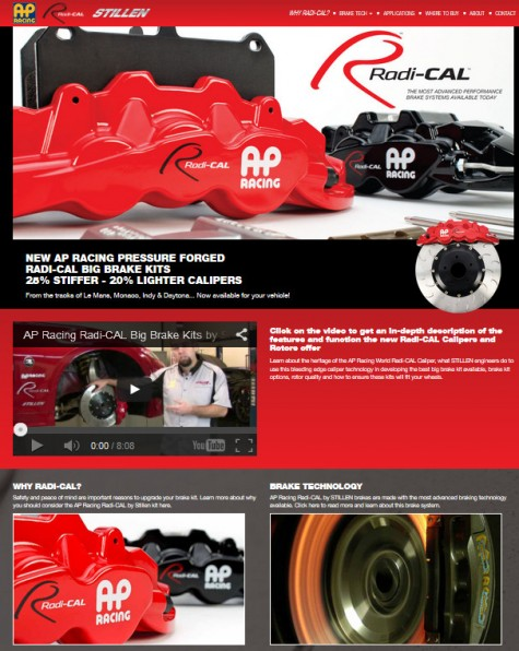 AP Racing Rad-CAL by STILLEN homepage image