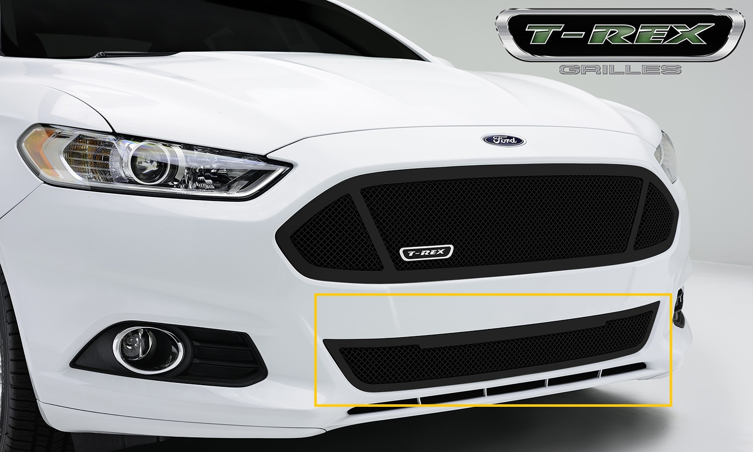 T-Rex 52531 - 2013-2014 Ford Fusion Upper Class Grille Bumper – Replacement
