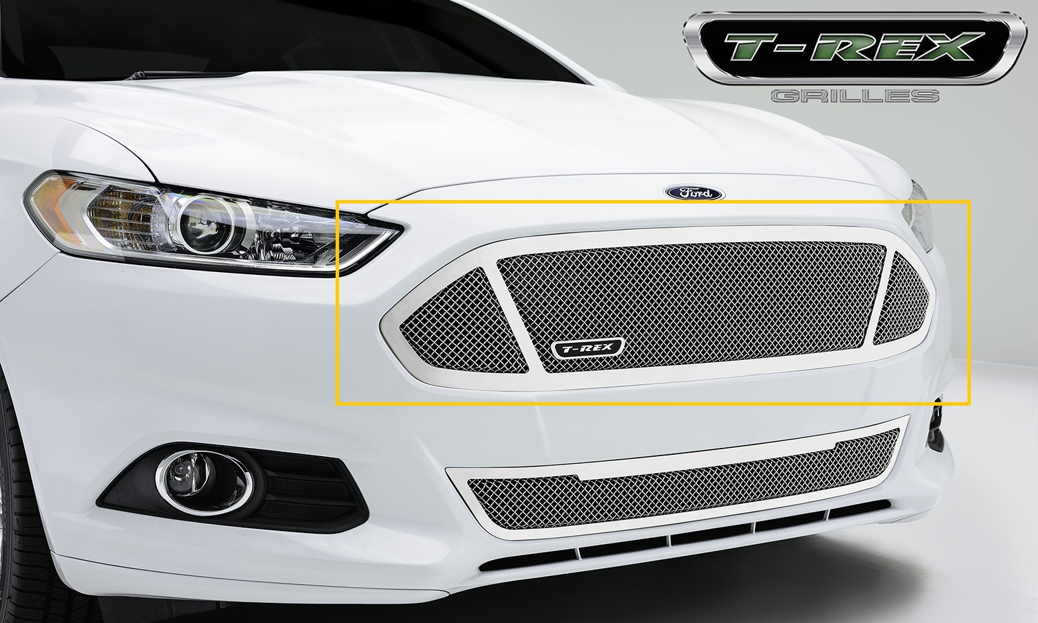 T-Rex 54531 – 2013-2014 Ford Fusion Upper Class Mesh Grille – Replacement