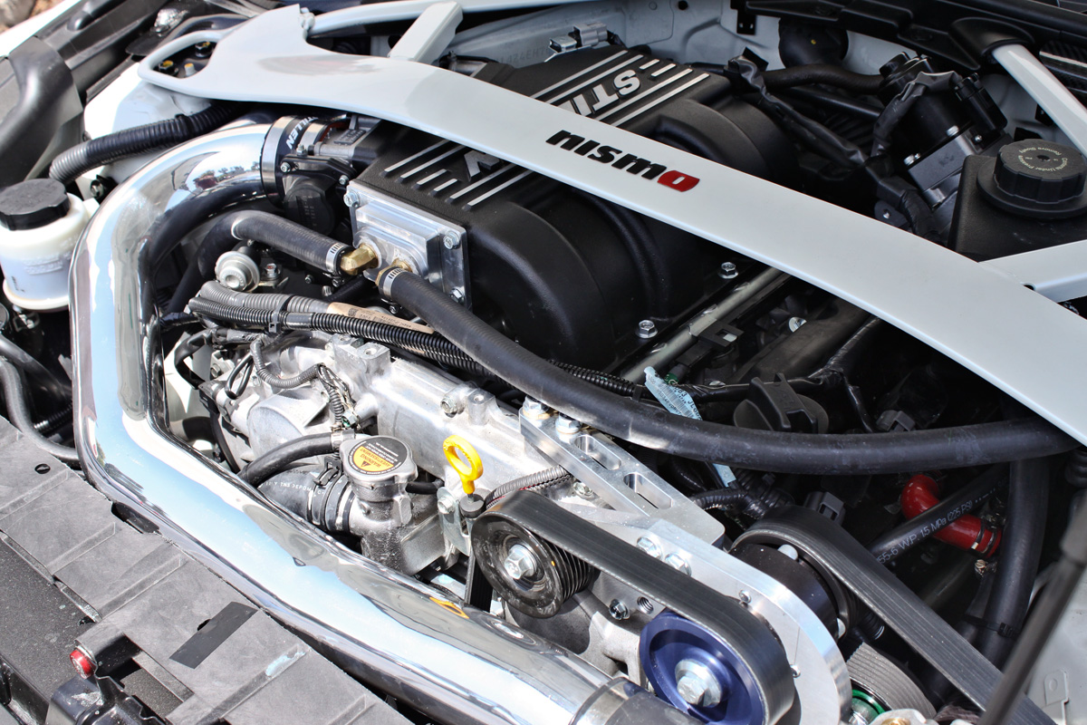 Stillen 50 State Legal Supercharger For Nissan 370z