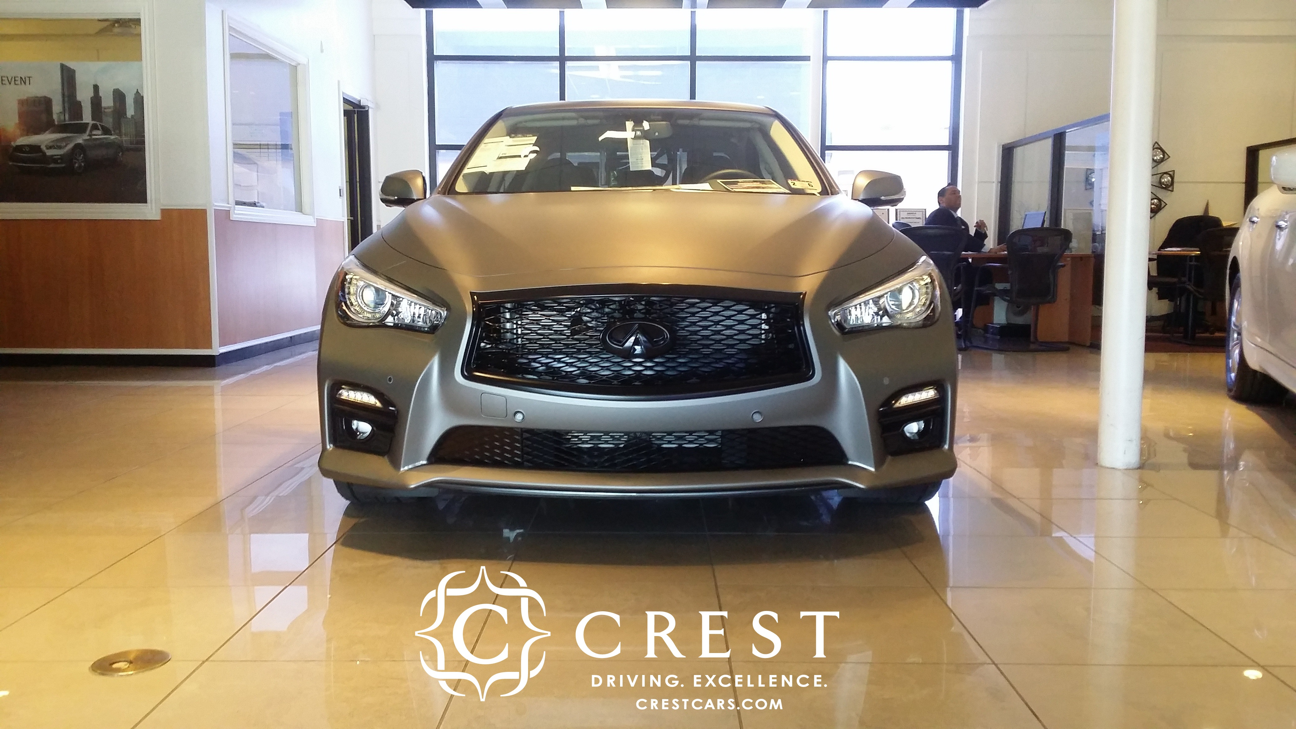 STILLEN Customized Crest Infiniti Q50