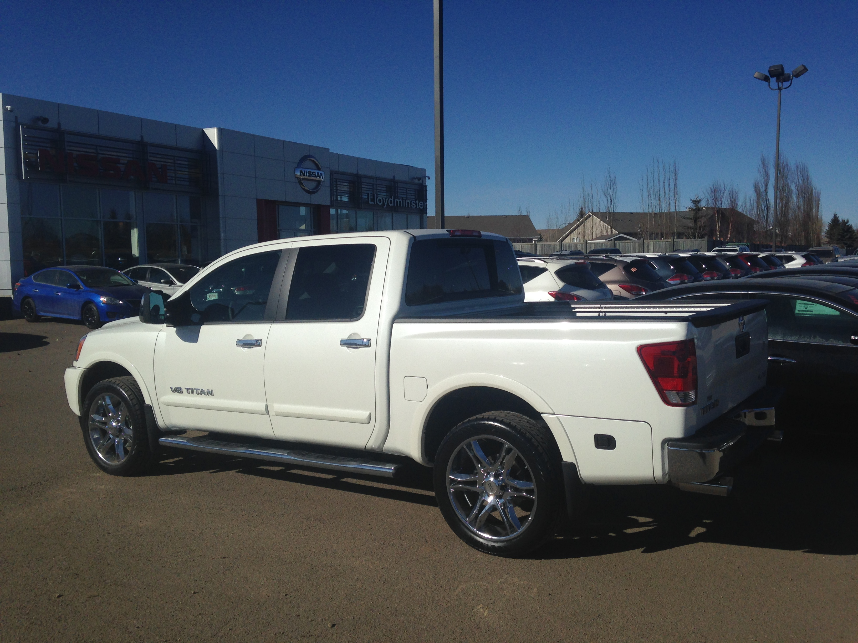 Lloydminster Nissan Titan with custom STILLEN parts