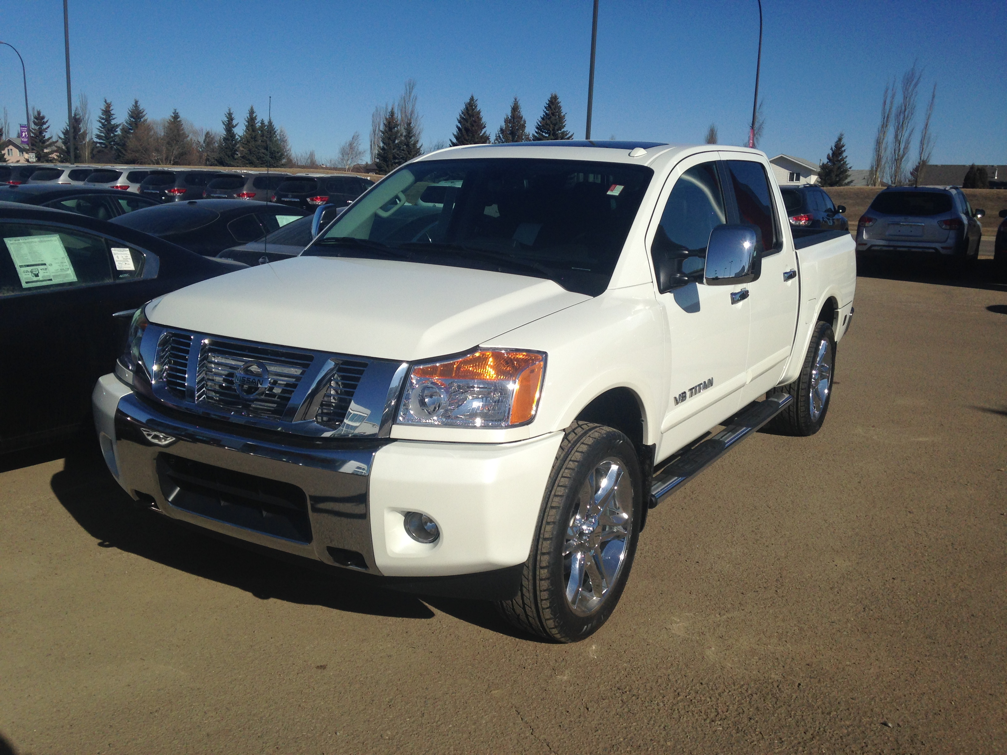 Nissan Lloydminster souped-up Nissan Titan