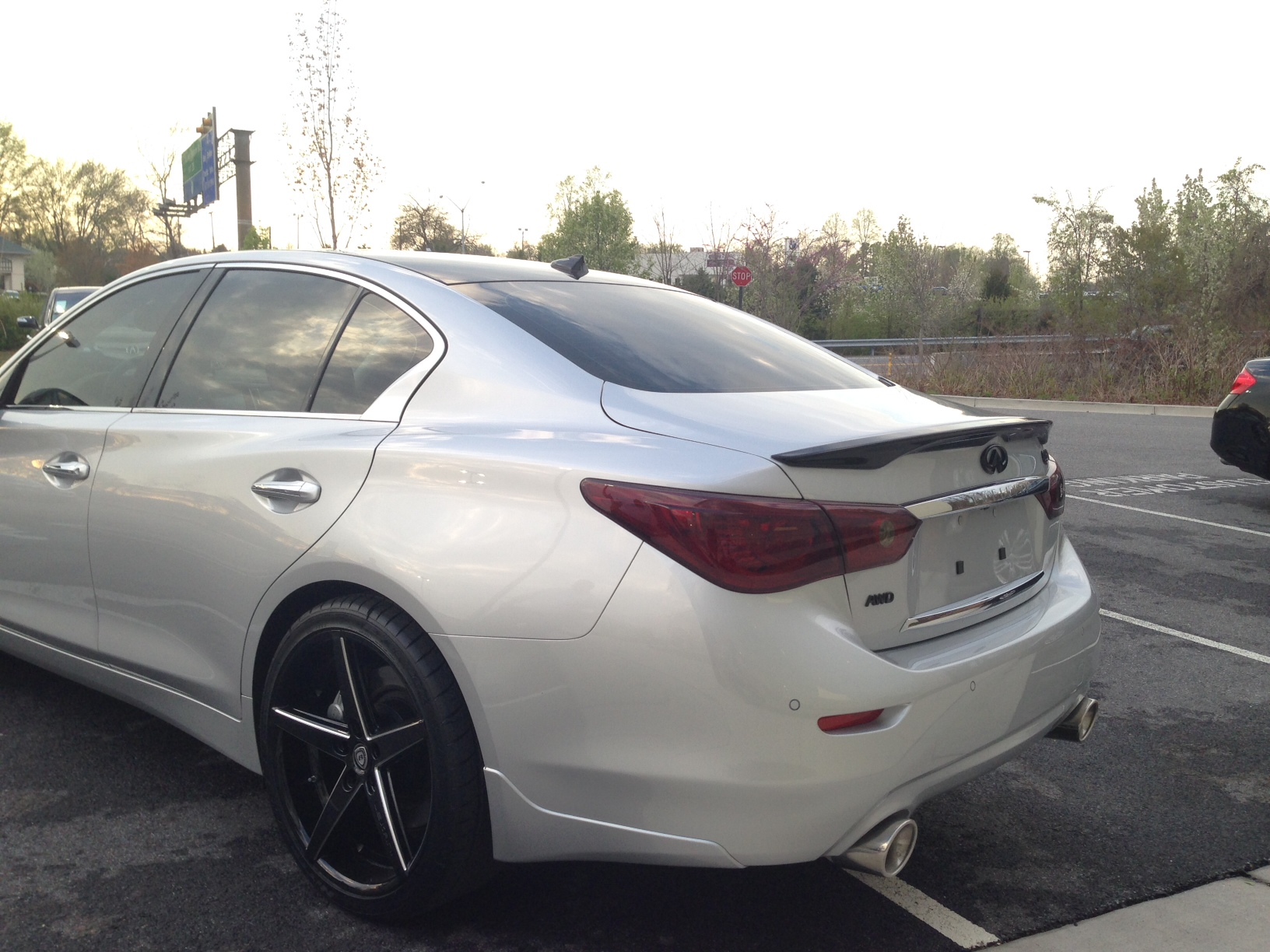 STILLEN Q50 cat-back exhaust