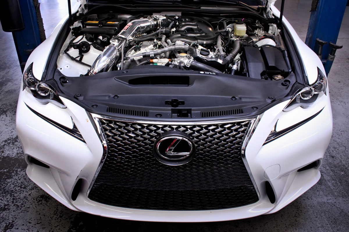 2014 Lexus IS350 with Injen SP Air Intake
