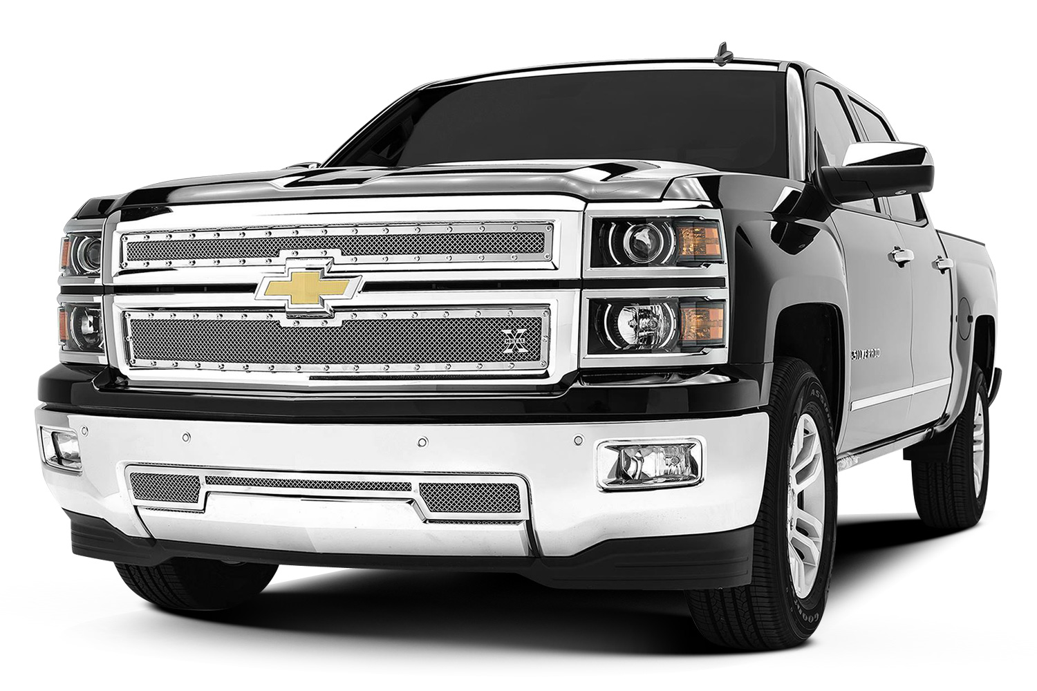 2014 Chevy Silverado 1500 with T-Rex grille