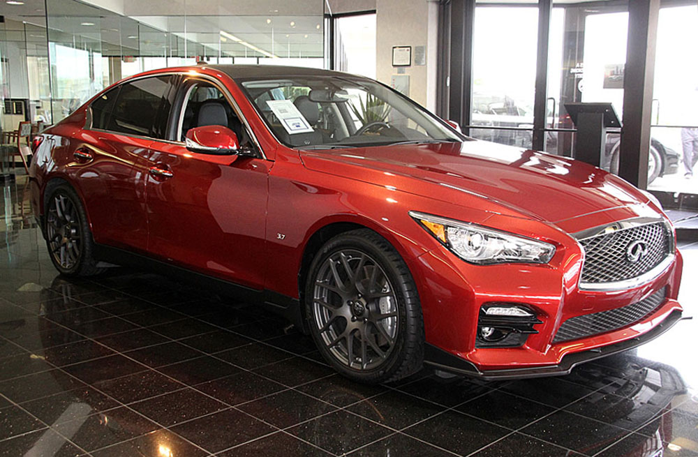 Infiniti Q50 With Stillen Splitter Now Available At Grubbs