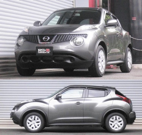 Nissan Juke with RS-R Down Sus Lowering Springs