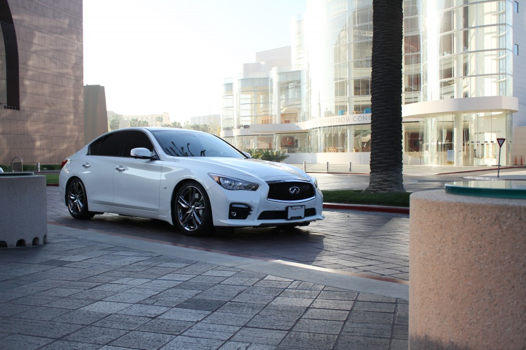 Infiniti Q50 AWD with RS-R Coilovers