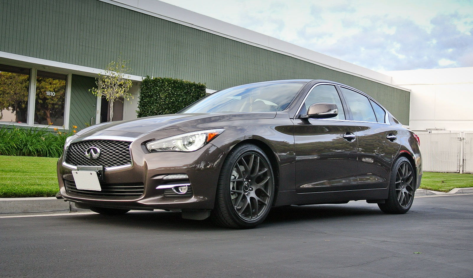 Q50 RWD with RSR Down Springs