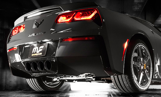 Magnaflow Exhaust on 2014 Corvette C7