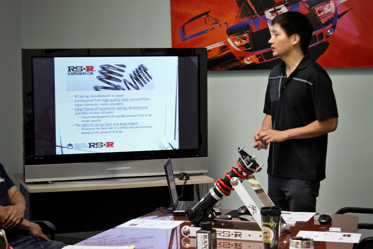 RS-R Coilover Shocks Training