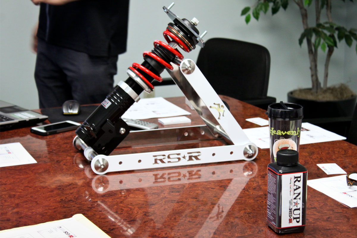 RS-R Black-i Coilover Shocks Training