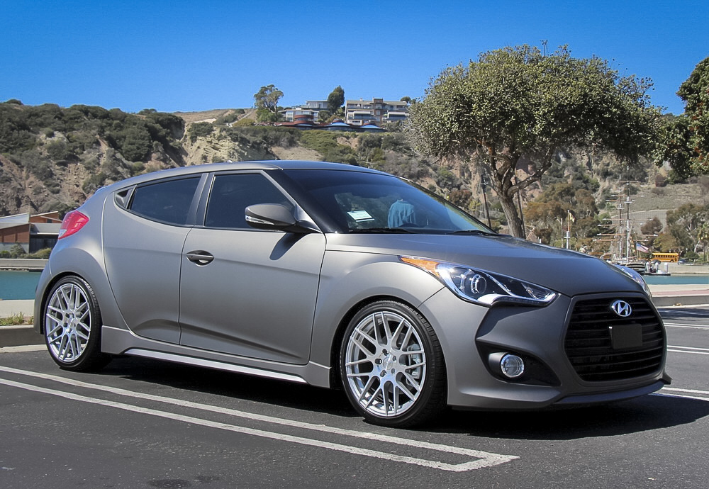 customer diy eibach veloster turbo lowering springs installed. Black Bedroom Furniture Sets. Home Design Ideas