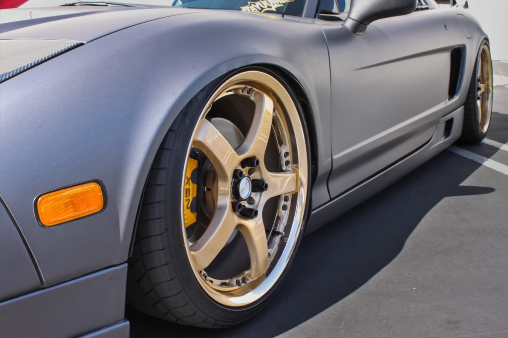 NSX with AirRex Suspension System by the STILLEN Southern California Performance Shop