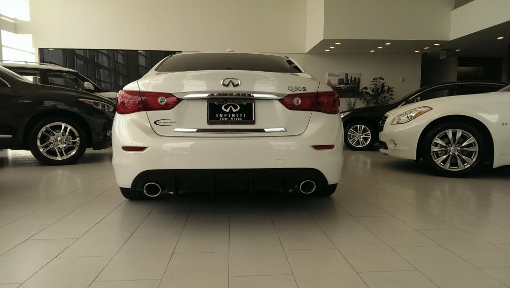 Fort Myers Infiniti Q50 with STILLEN Diffuser & Exhaust