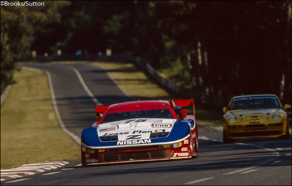 STILLEN founder, Steve Millen, Driving in the 1994 24 Hours of Le Mans