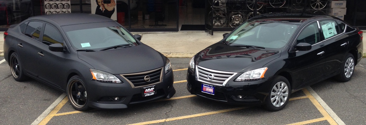 STILLEN Custom Nissan Sentra vs. Stock Nissan Sentra
