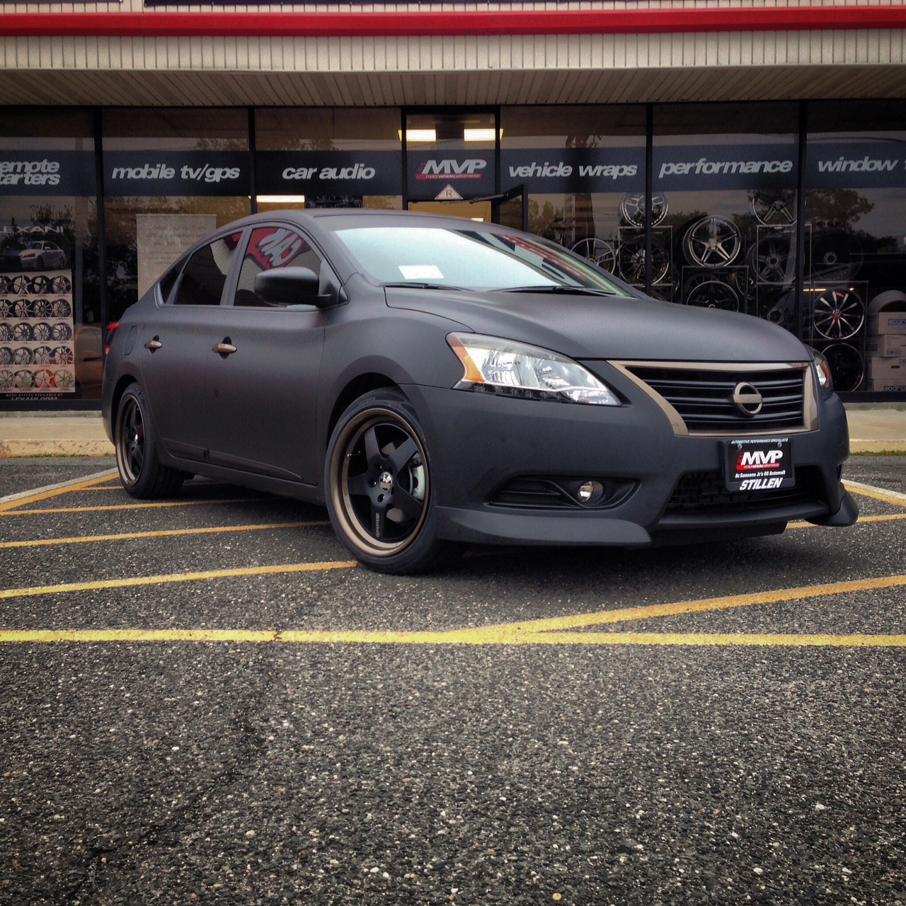 Sansone JR's Route 66  Nissan Sentra with STILLEN Aftermarket Parts