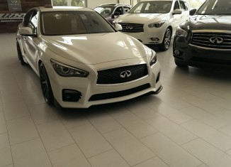 Fort Myers Infiniti Q50 with STILLEN Front Lip & Cold Air Intakes