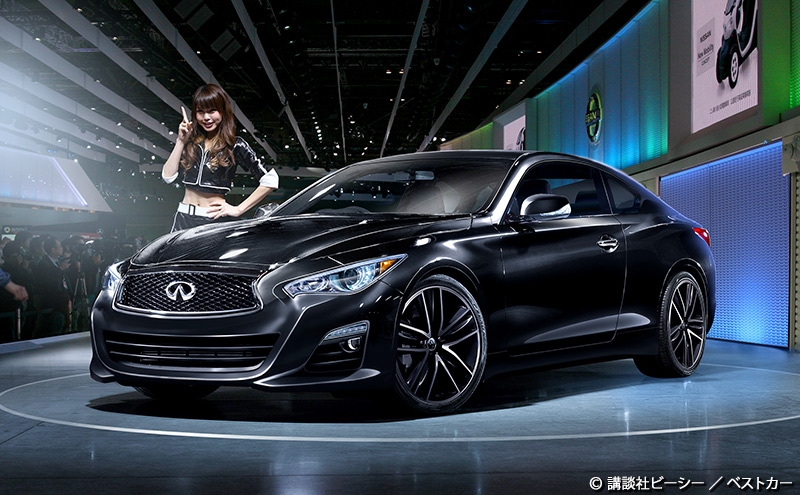 Rendering of the 2015 Infiniti Q60