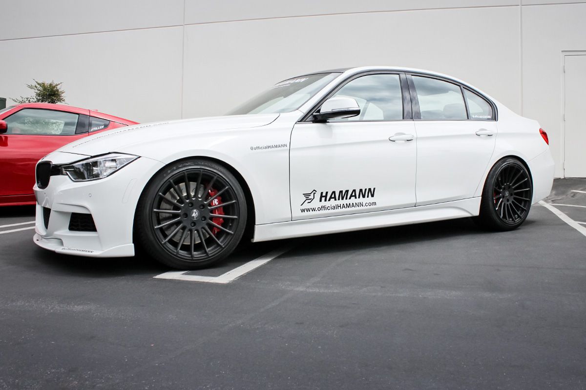 Hamann BMW 335i After Getting the AP Racing by STILLEN Radi-CAL Big Brake Kit Installed