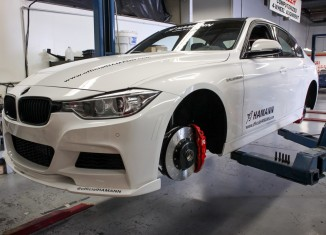 Installing the AP Radi-CAL by STILLEN Big Brake Kit on the Hamann BMW 335i