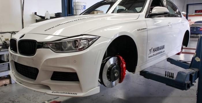 Installing the AP Radi-CAL by STILLEN Big Brake Kit on the Hamann BMW 335i