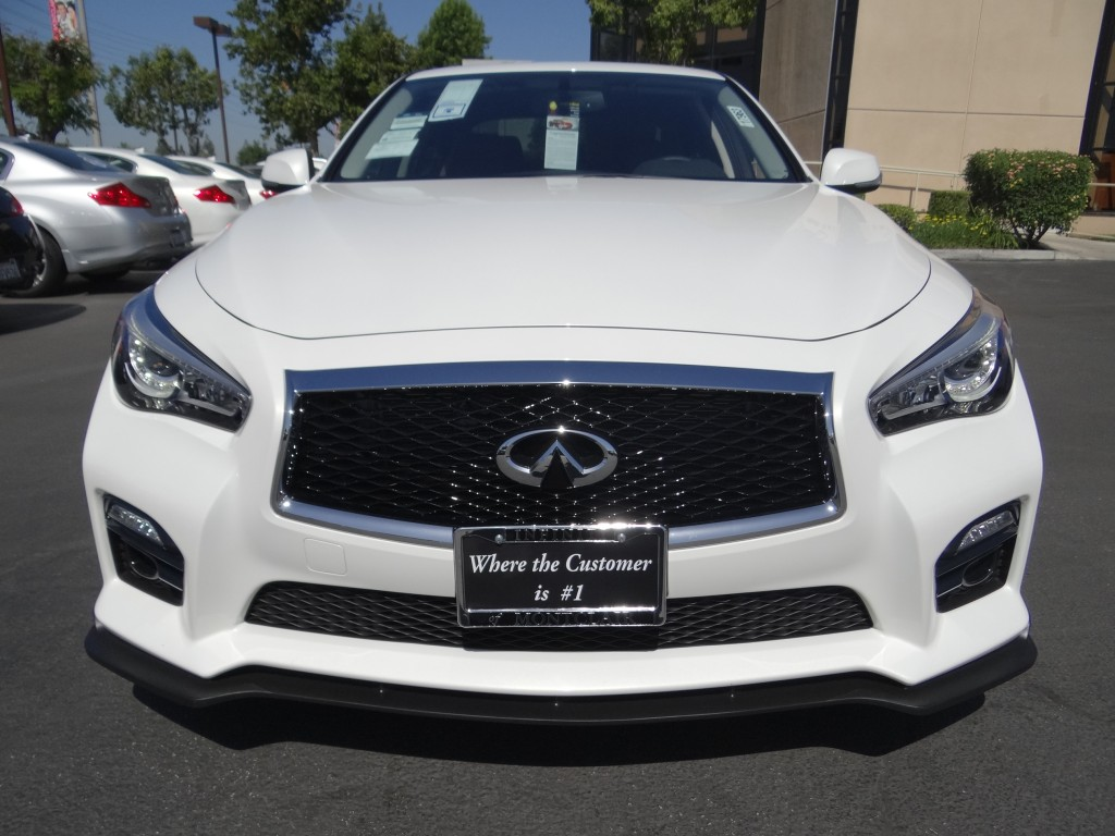 STILLEN customized Infiniti Q50 with Front Splitter