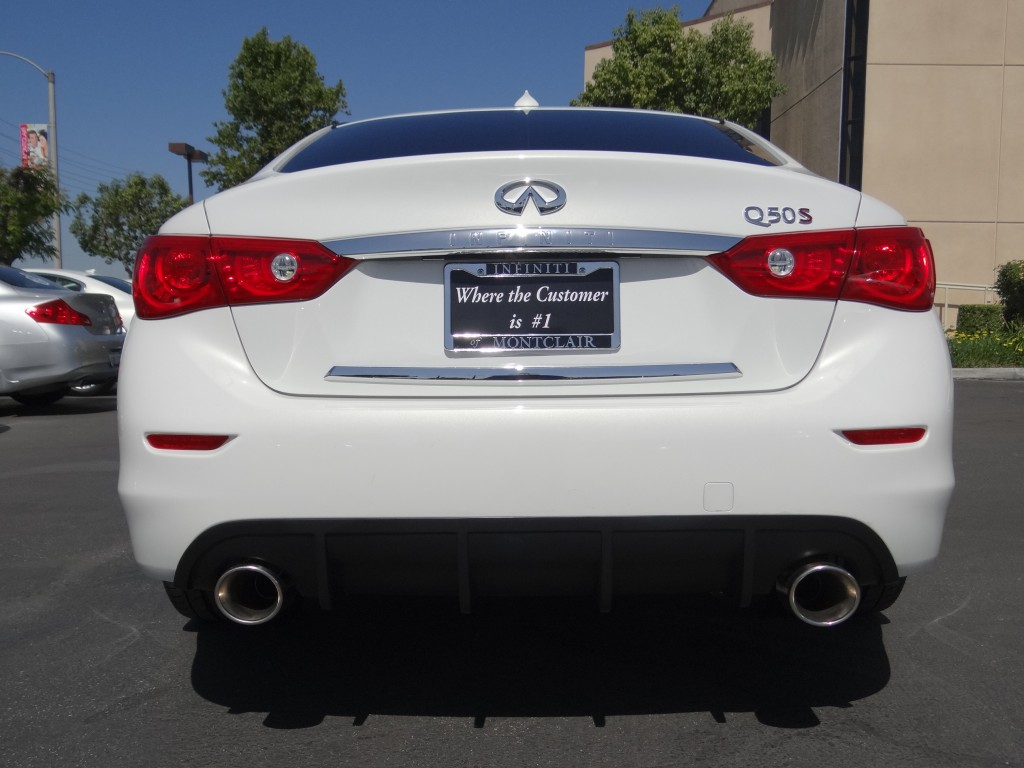 Infiniti Q50 with STILLEN Cat-Back Exhaust & Diffuser