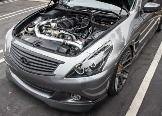 Infiniti G37 Sedan with Polished STILLEN Supercharger