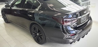 Infiniti of Kansas City Q50 with STILLEN Splitter, Diffuser, Cat-Back Exhaust, Roof Wing, Deck Spoiler and Cold Air Intake