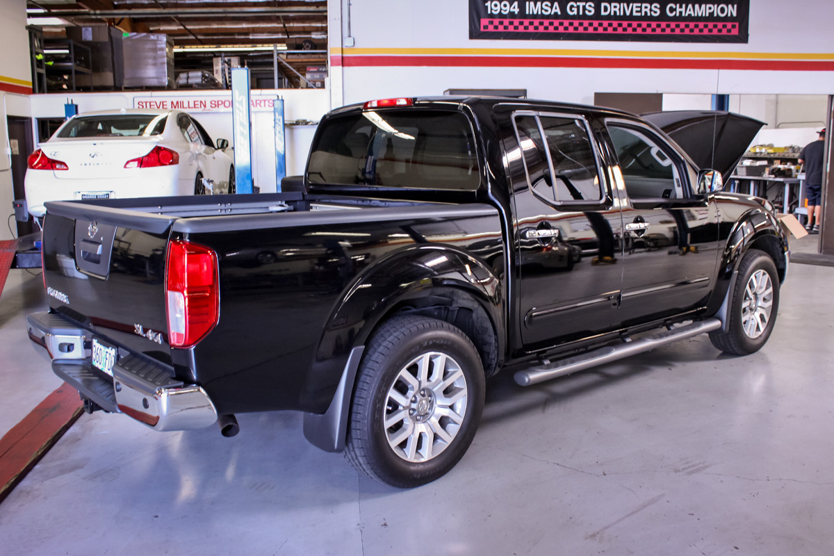 Nissan Frontier in the STILLEN Performance Shop