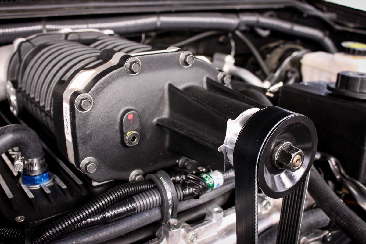 STILLEN Nissan Frontier Supercharger Installed