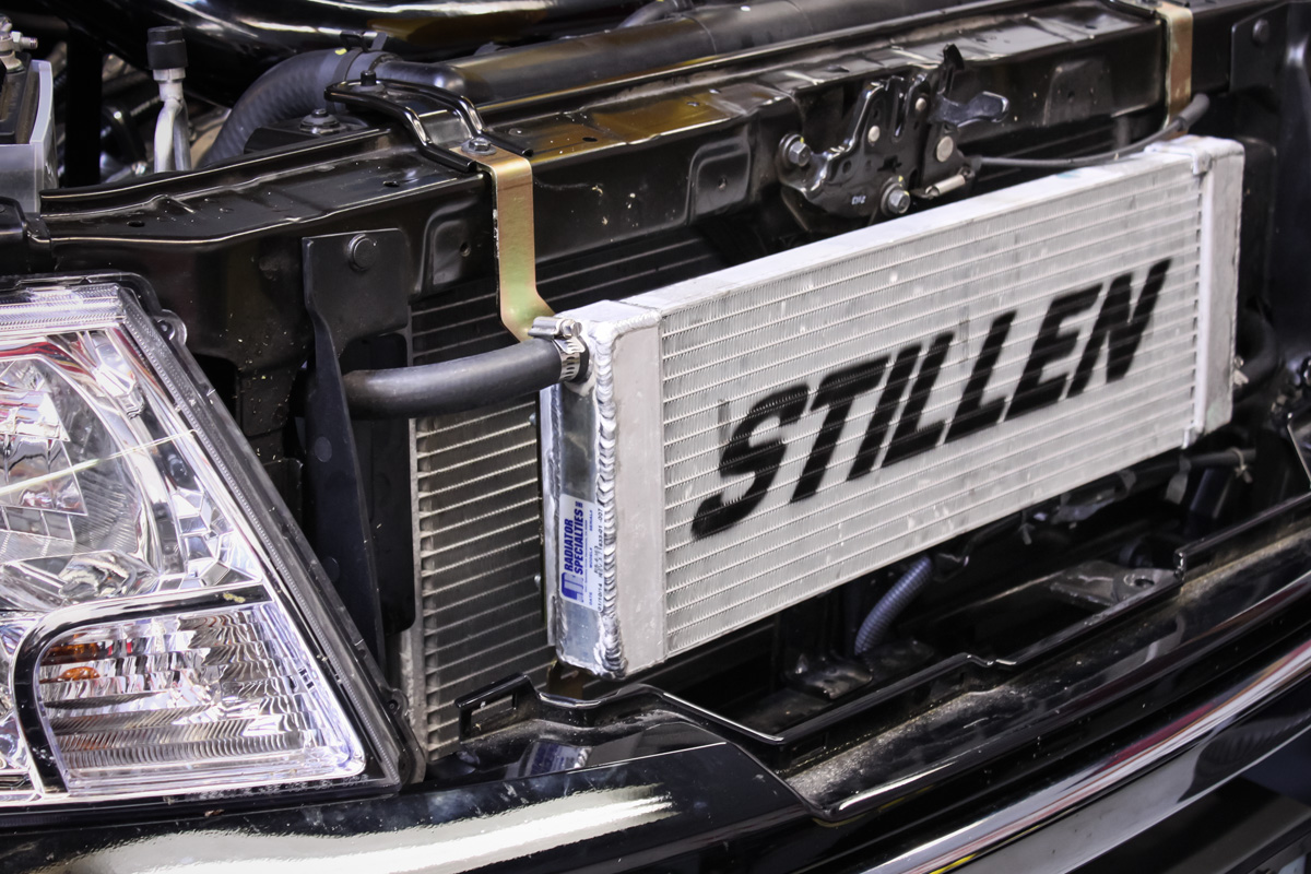 STILLEN Supercharger Installed in Nissan Frontier