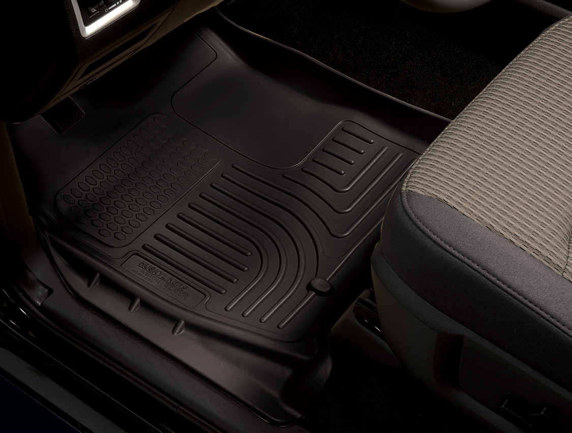 Get ready for winter with husky liners weatherbeater floor for Mercedes benz winter floor mats