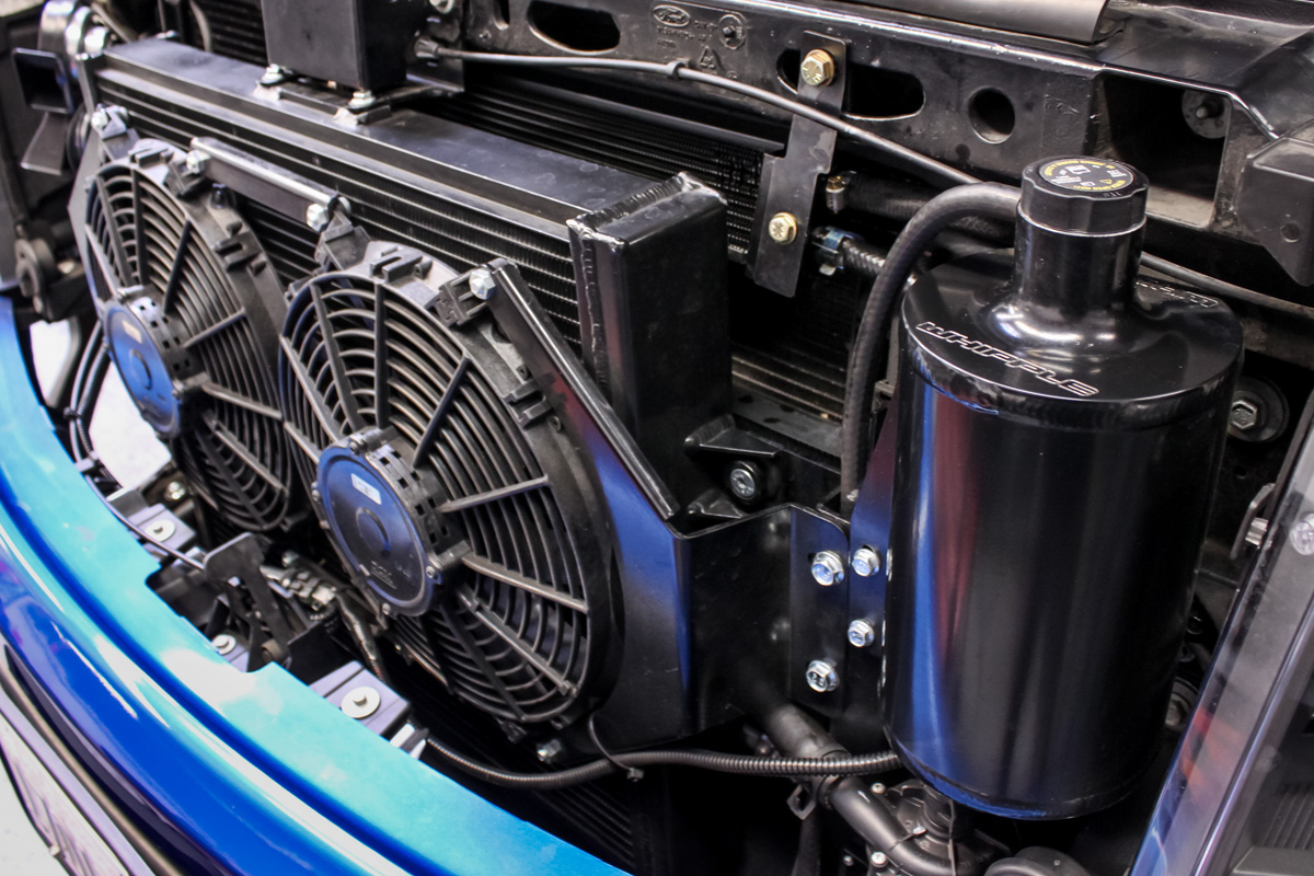 Whipple Heat Exchanger Installed on Ford SVT Raptor