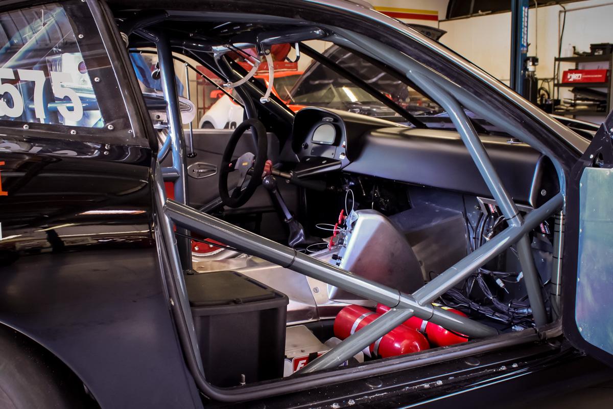 Bonneville SpeedWeek Contender - Ferrari 550 Maranello's Roll Cage